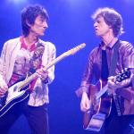 Mick and Ron Wood